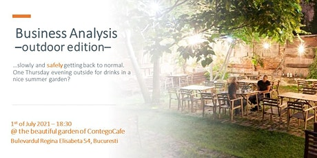 Business Analysis  - Outdoor Edition tickets