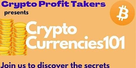 Crypto Currencies 101 tickets