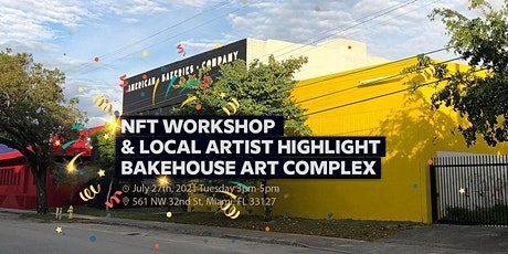 Miami 125 NFT (non-fungible token) Workshop and Local Artists Spotlight tickets