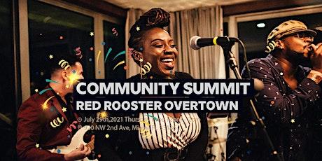 Miami 125  Community Summit billets
