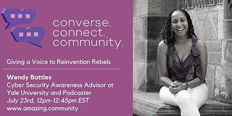Converse.Connect.Community:  Giving a Voice to Reinvention Rebels tickets