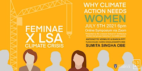 FEMIN.AE x LSA CLIMATE CRISIS: WHY CLIMATE ACTION NEEDS WOMEN tickets