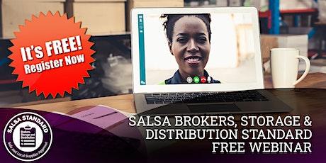 SALSA Brokers, Storage and Distribution Standard (BSD) - The Essentials billets