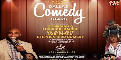 Dallas Comedy Stars tickets