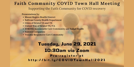 Faith Leaders COVID Recovery Town Hall Meeting tickets