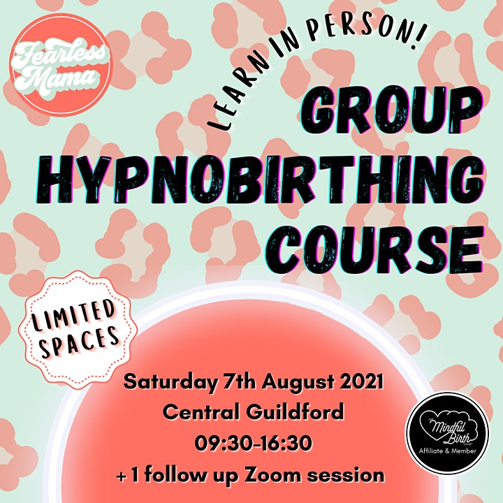 Fearless Mama Hypnobirthing (August Group Course) image