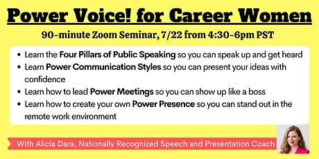 Power Voice for Career Women tickets