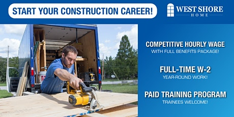 Hiring Event - Residential Remodelers - Charleston, SC tickets