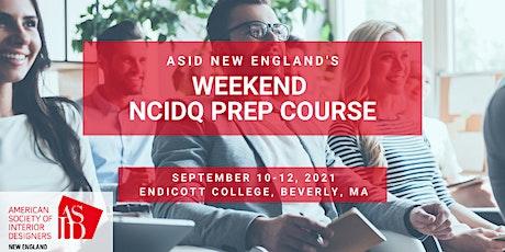 Weekend NCIDQ Prep Course tickets