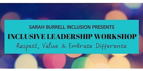 Inclusive Leadership Workshop bilhetes