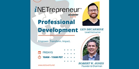 Professional Development: The Keys to Being a Great Leader: How To Inspire tickets