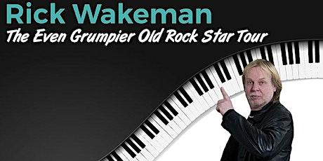 Rick Wakeman: The Even Grumpier Old Rock Star Tour tickets