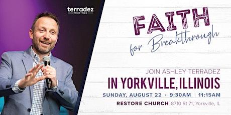 Ashley Terradez at Restore Church tickets
