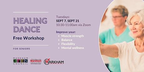 Art for Seniors - Healing Dance Session - September 14, 2021 tickets