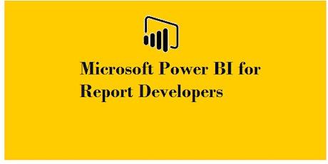 Microsoft Power BI for Report Developers 1 Day Training in Geneva tickets