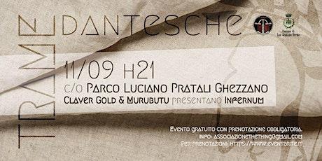 Trame dantesche: Murubutu + Claver Gold biglietti