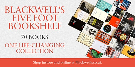 Blackwell's Five Foot Bookshelf Panel tickets