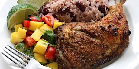 Jamaican food and reggae night tickets
