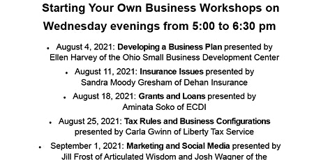 Start Your Own Business: Insurance Issues tickets