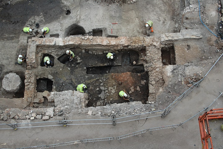 Medieval and later discoveries in the Redcliffe Quarter of Bristol image