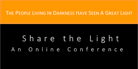Share the Light Online Conference tickets