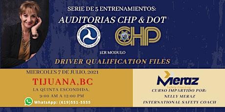ENTRENAMIENTOS: AUDITORIAS CHP & DOT tickets
