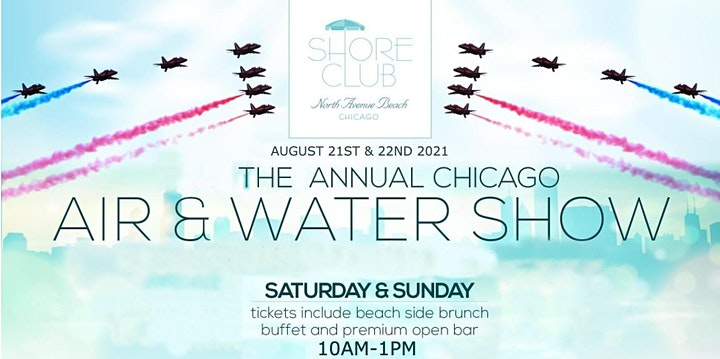 Air & Water Show Sunday 8/22 image