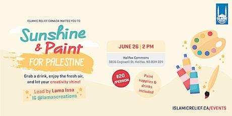 Sunshine & Paint for Palestine tickets