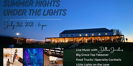 Summer Nights Under the Lights - Live Music   Drinks   Food Trucks tickets