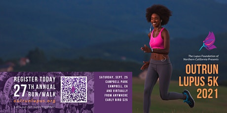 Outrun Lupus 5K Run/Walk (In-Person AND Virtual) tickets