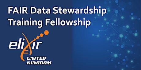 ELIXIR-UK FAIR Data Stewardship Fellowship Launch webinar tickets