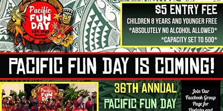 36th Annual Pacific Fun Day 2021 tickets
