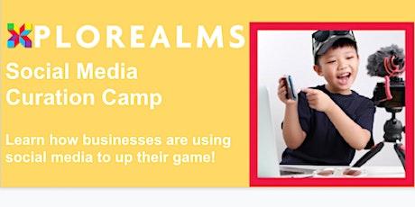 Social Media Curation Kids Camp tickets