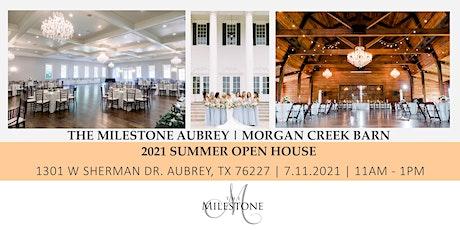 2021 The Milestone Aubrey Summer Open House tickets