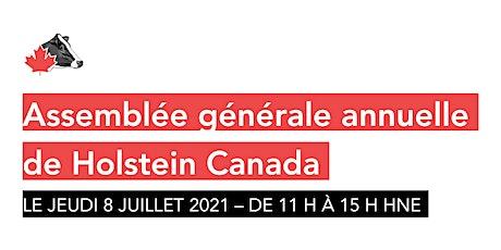 AGA virtuelle de Holstein Canada – le 8 juillet 2021 tickets