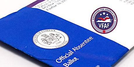 VFAF Election Transparency Training - Va Bch / Chesapeake tickets