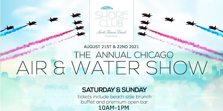 Air & Water Show Saturday 8/21 image