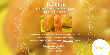 TeSendo - Roda de trocas & conversas ingressos