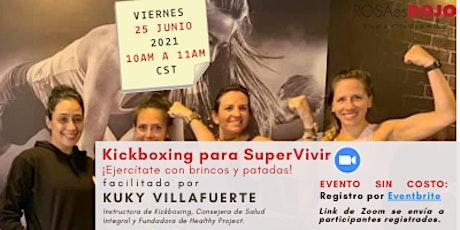 Grupo de Soporte: ¡Kickboxing para SuperVivir! tickets
