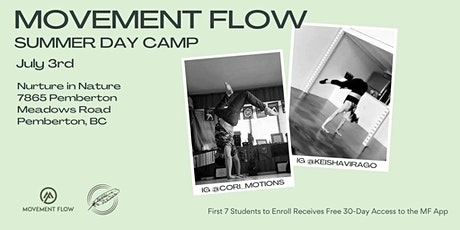 Movement Flow Summer Day Camp tickets