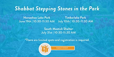 Shabbat Stepping Stones in the Park- Rocky River Reservation