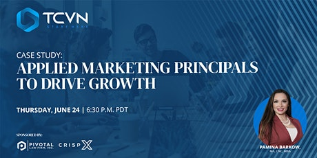 TCVN Presents : Applied Marketing Principles with Pamina Barkow tickets