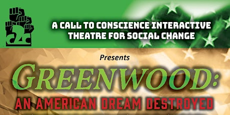 GREENWOOD: An American Dream Destroyed tickets