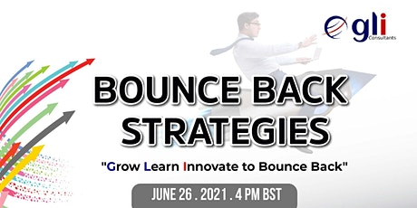Business Bounce Back Strategies - key steps to recover from adversity tickets