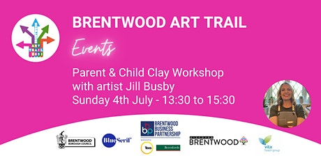 Brentwood Art Trail - Parent & Child Clay Workshop tickets
