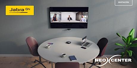 Neocenter y Jabra: Capacitación técnica en equipamiento de salas entradas