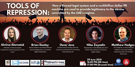 Tools of Repression in the United Arab Emirates tickets