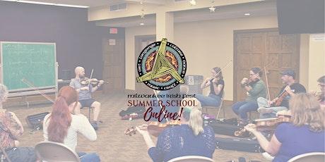 Milwaukee Irish Fest Summer School Online 2021 tickets