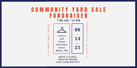 Loaves and Fishes Community Yard Sale tickets