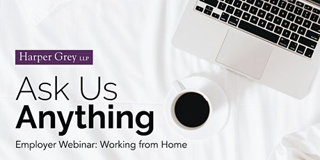 Employer Webinar: Working from Home tickets